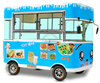 3.5m Long Fashionable Electric Cart Mobile Ice Cream Cart for Sale
