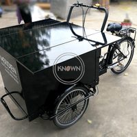 Customized Electrical Pedal Cargo Bike Mobile Coffee Vending Truck Motor Tricycle with CE Certification