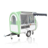 220H Food Trailer Mobile Fast Food Cart Ice Cream Hot Dog Food Truck
