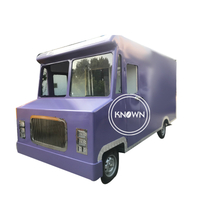 Electric Mobile 4.2M Length Concession Trailer Fast Food Vending Truck Cart for Sale