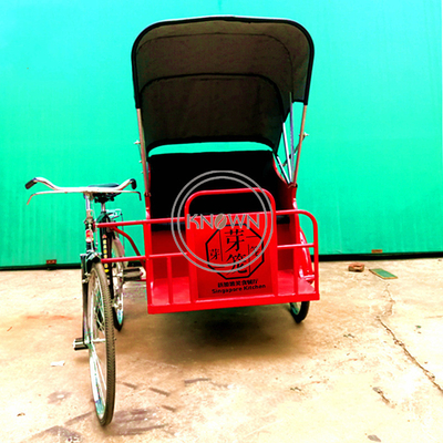 Southeast Asian Style Sighting Cart Pedal Tricycle Passenger Vehicle Customized Electric Cargo Bike