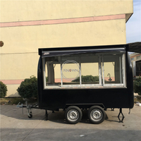 KN-300H Custom Food Truck Fast Food Car Snack Car Outdoors Mobile Food Trailer