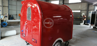The Most Popular Hand Push Customized 220 Cm Long Food Cart Food Truck Mobile Food Trailer