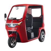 3 Seats Electric Tricycle New Scooter Convertible Tricycle for Adults