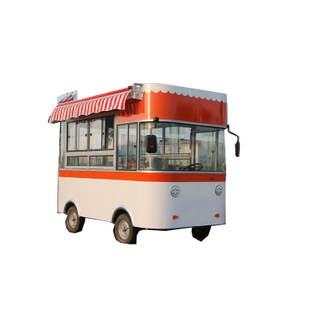 2019 latest type food cart electric truck food vending cart for sale