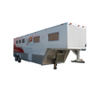 Factory supply galvanized economic horse straight load trailer for horse