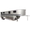 Factory supply 4 horses Australia gooseneck horse float trailer for sale