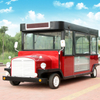 OEM vending fast food street cart electric food truck for sale in USA